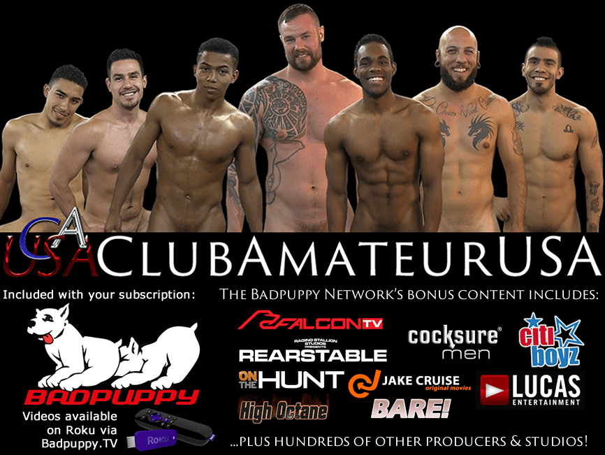 Click to Enter ClubAmateurUSA.com - Badpuppy.com and BoardwalkBar.com Included with ClubAmateurUSA Membership